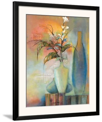 Floral Fantasy I-Sandy Clark-Framed Art Print
