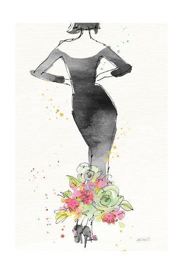 Floral Fashion I v2-Anne Tavoletti-Art Print