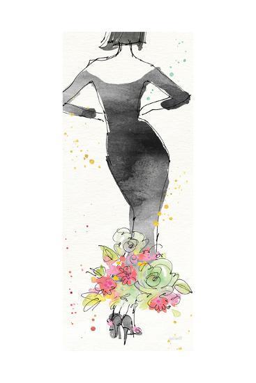 Floral Fashion I-Anne Tavoletti-Art Print