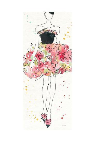 Floral Fashion II-Anne Tavoletti-Art Print