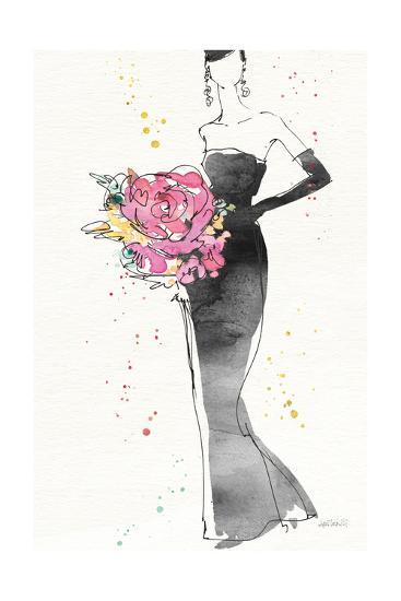 Floral Fashion III v2-Anne Tavoletti-Art Print