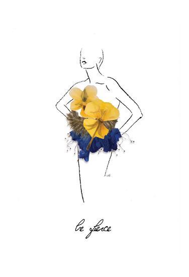 Floral Fashion-Victoria Brown-Art Print