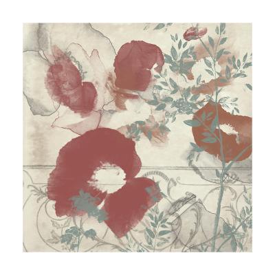 Floral Flutter I-Jennifer Goldberger-Art Print
