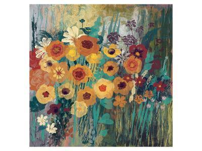 Floral Frenzy Green-Alan Hopfensperger-Art Print
