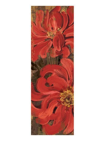 Floral Frenzy Red III-Alan Hopfensperger-Art Print