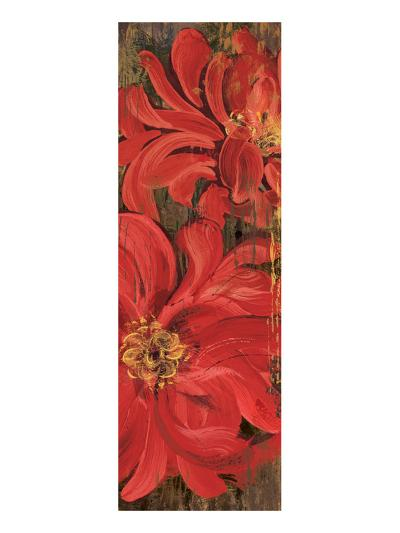 Floral Frenzy Red IV-Alan Hopfensperger-Art Print