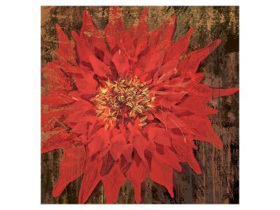 Floral Frenzy Red VI-Alan Hopfensperger-Art Print