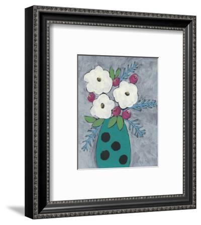 Floral Frolic II-Regina Moore-Framed Art Print