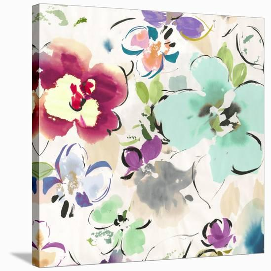 Floral Funk II-Kelly Parr-Stretched Canvas Print