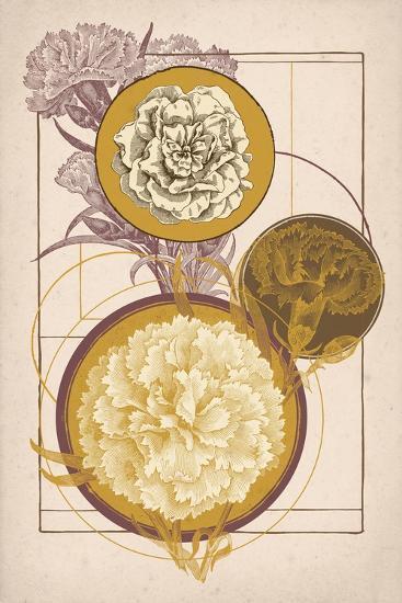 Floral Geometry--Art Print