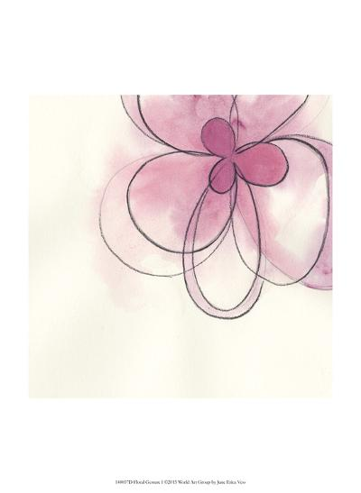 Floral Gesture I-June Vess-Art Print