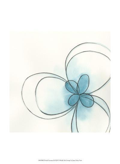 Floral Gesture II-June Vess-Art Print