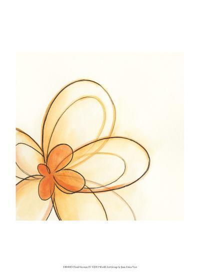 Floral Gesture IV-June Vess-Art Print