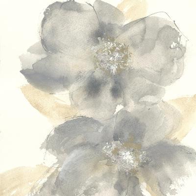 Floral Gray II-Chris Paschke-Art Print
