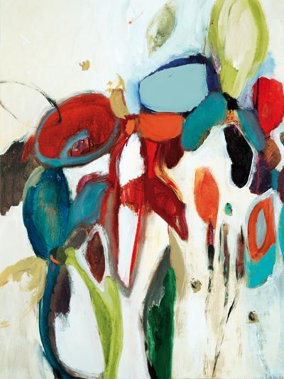 Floral Hints-Lisa Ridgers-Art Print