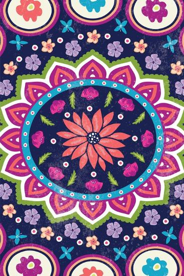 Floral I-ND Art-Art Print