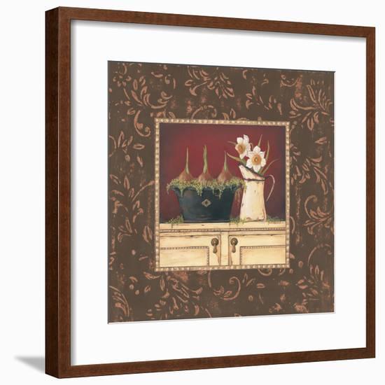 Floral II-Jo Moulton-Framed Premium Giclee Print