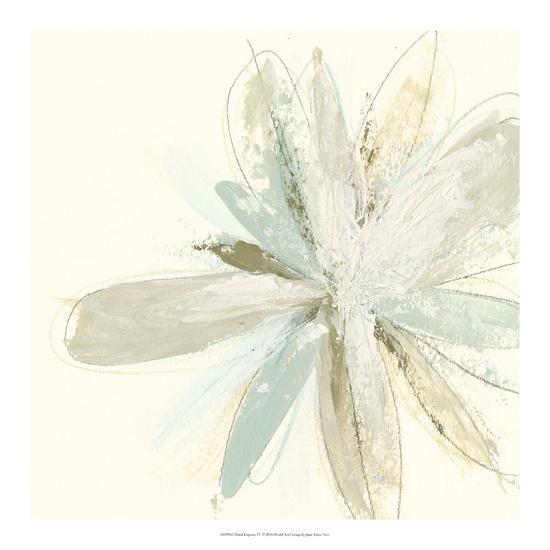 Floral Impasto IV-June Erica Vess-Giclee Print