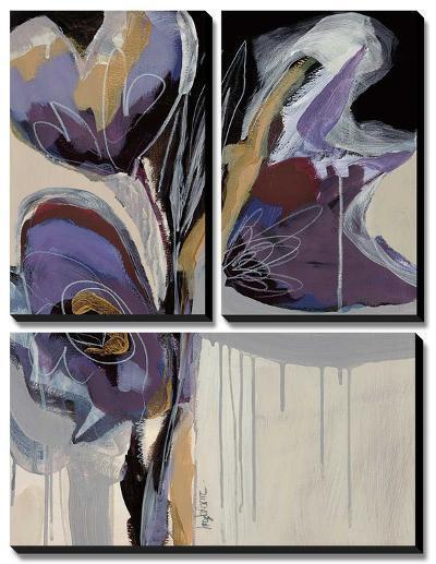 Floral Impressions II-Angela Maritz-Canvas Art Set