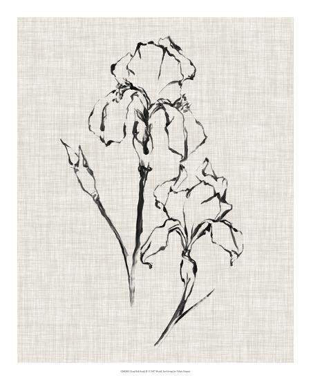 Floral Ink Study II-Ethan Harper-Giclee Print