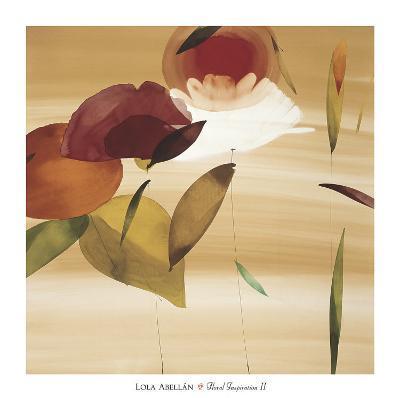 Floral Inspiration II-Lola Abellan-Art Print