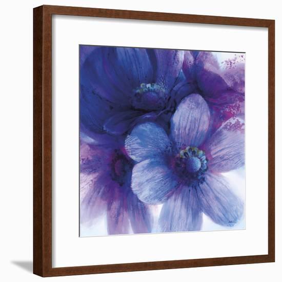 Floral Intensity II-Nick Vivian-Framed Giclee Print