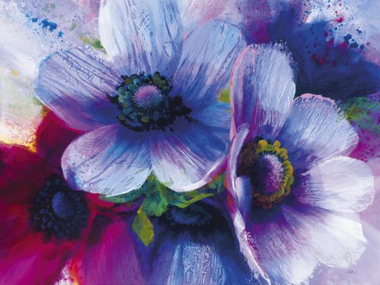 Floral Intensity III-Nick Vivian-Giclee Print