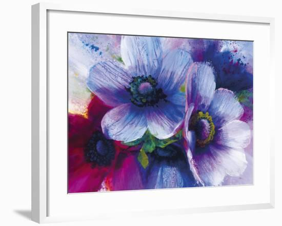 Floral Intensity III-Nick Vivian-Framed Giclee Print