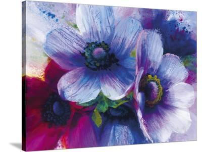 Floral Intensity III-Nick Vivian-Stretched Canvas Print
