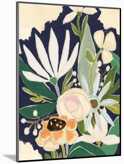 Floral Interim II-June Vess-Mounted Art Print