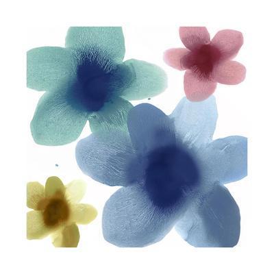 Floral Joy I-Hannah Carlson-Framed Giclee Print