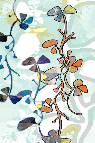 Floral Layers 1-Jan Weiss-Art Print