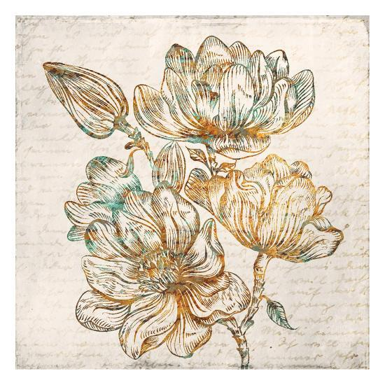 Floral Notes 1-Kimberly Allen-Art Print