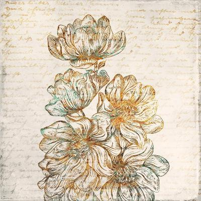 Floral Notes 2-Kimberly Allen-Art Print
