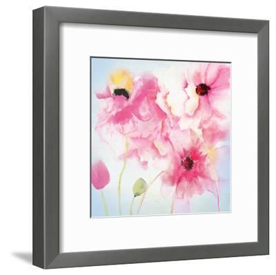 Floral Painting-Victoria Brown-Framed Art Print