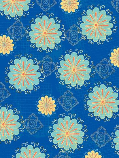 Floral Pattern III-Esther Loopstra-Giclee Print