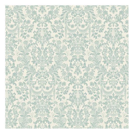 Floral Pattern Reverse-Jace Grey-Art Print