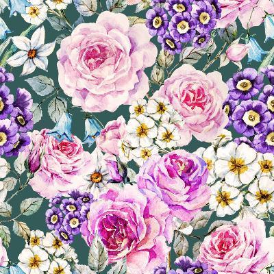 Floral Pattern-Zenina-Art Print