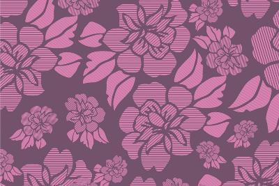 Floral Pattern-Whoartnow-Giclee Print