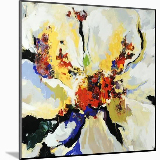 Floral Play-Sydney Edmunds-Mounted Giclee Print