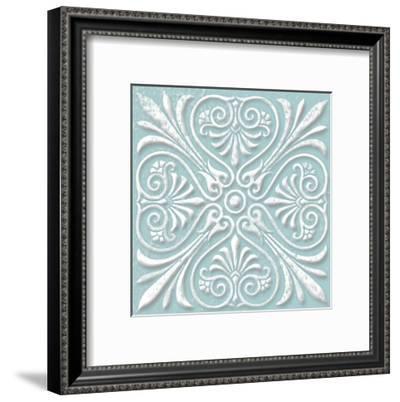 Floral Pop Four-Jace Grey-Framed Art Print