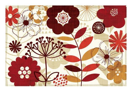 Floral Pop I-Mo Mullan-Art Print