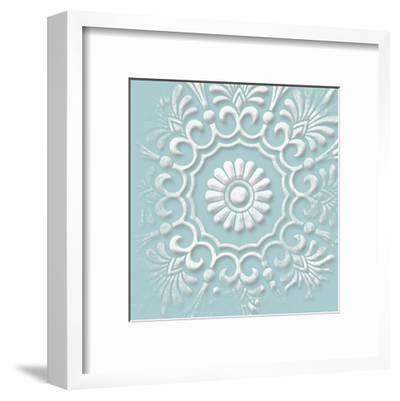 Floral Pop One-Jace Grey-Framed Art Print