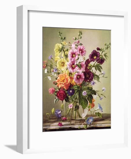 Floral Rapture-Albert Williams-Framed Giclee Print
