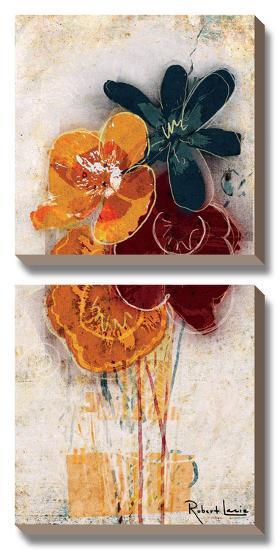 Floral Scents II-Robert Lacie-Canvas Art Set