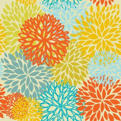Floral Seamless Pattern-mcherevan-Art Print