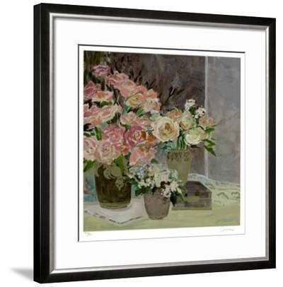 Floral Sensation-Ellen Gunn-Framed Limited Edition