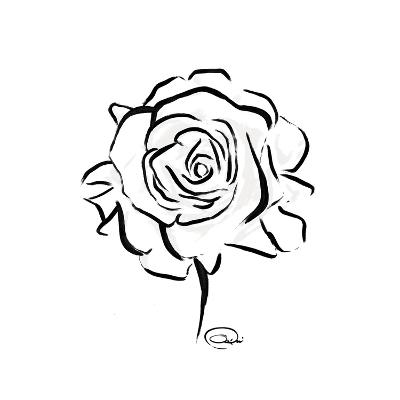 Floral Sketch-OnRei-Art Print