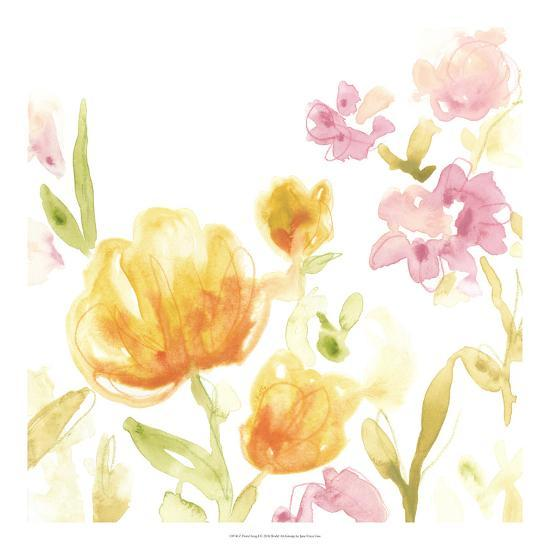 Floral Song I-June Erica Vess-Giclee Print