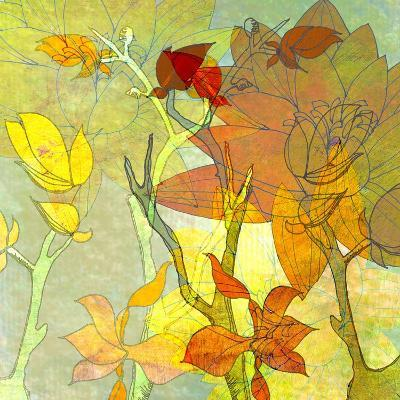 Floral Spice Shadow-Jan Weiss-Art Print